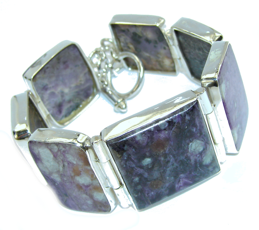 Bali Secret Tiffany Jasper Sterling Silver Bracelet