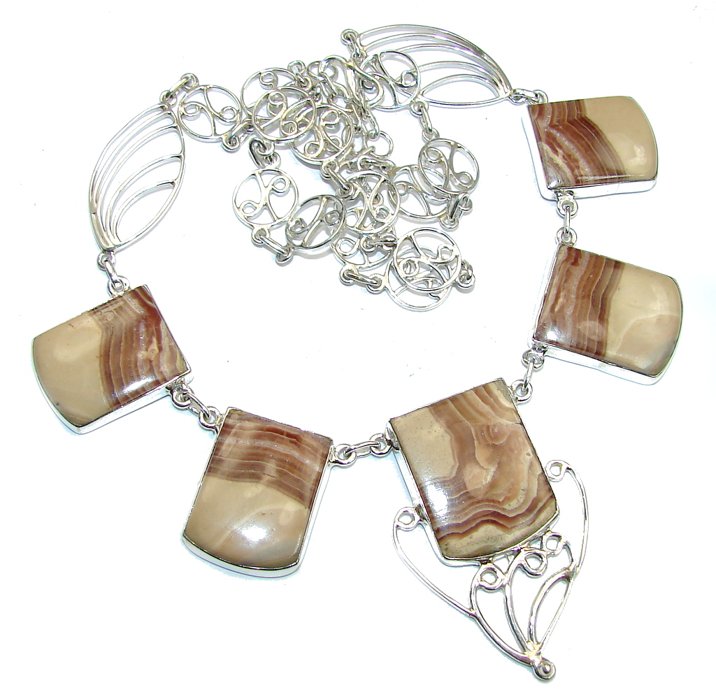 Sublime_natural__Rhodochrosite_Sterling_Silver_necklace