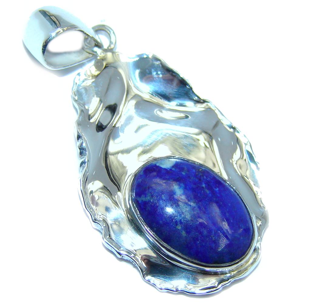 Blue Sky AAA Lapis Lazuli Sterling Silver Pendant