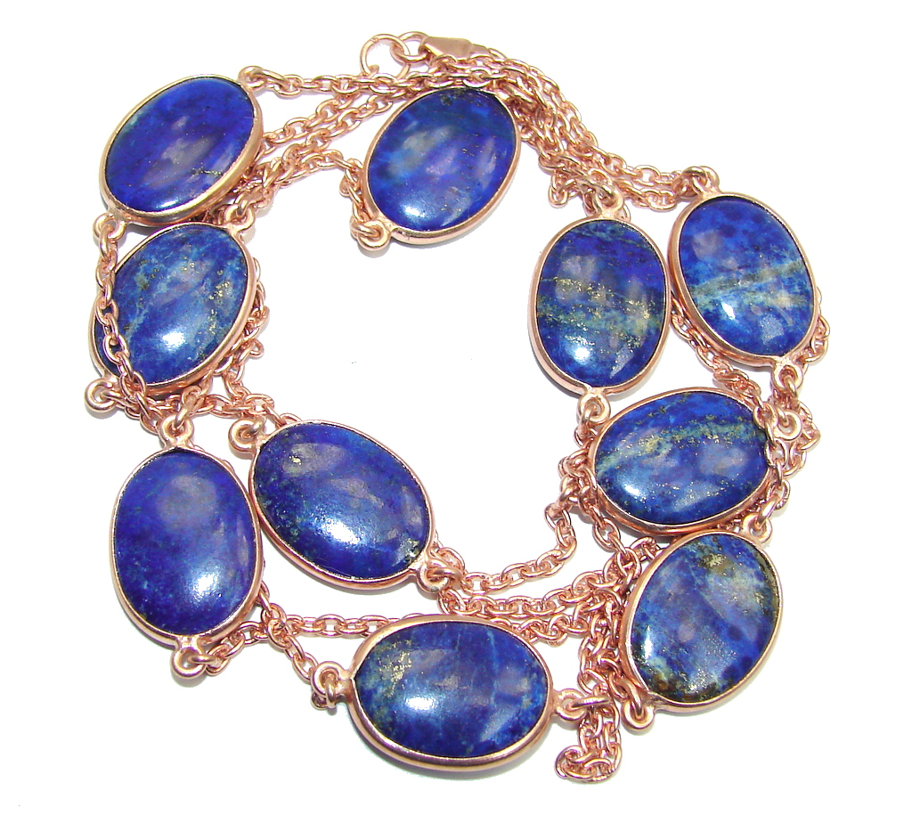 Indian Antique Gold Bracelet Lapis