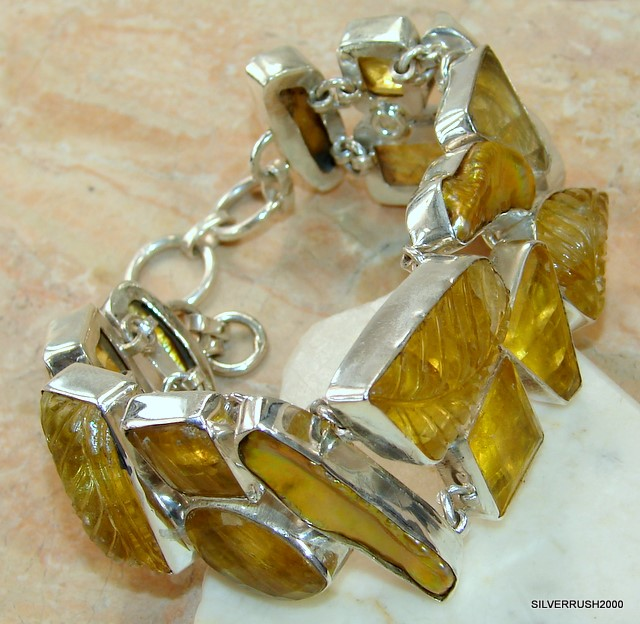 Fantastic Design Citrine And Mop