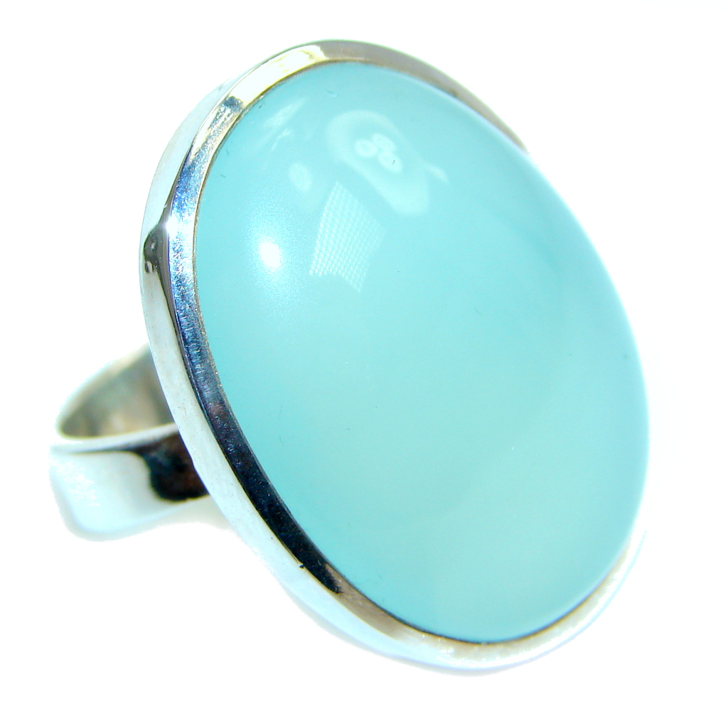 Passiom Fruit Aquamarine Sterling Silver Ring s. 7 113529