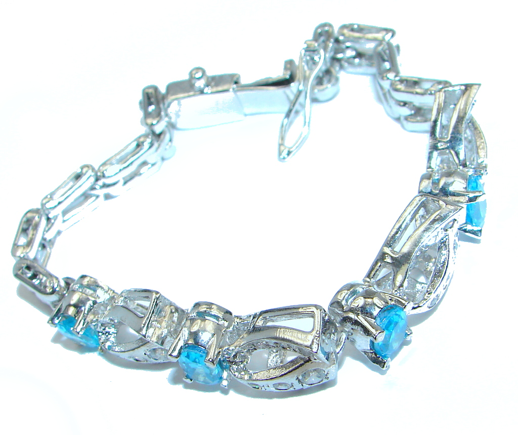Great Blue Cubic Zirconia...