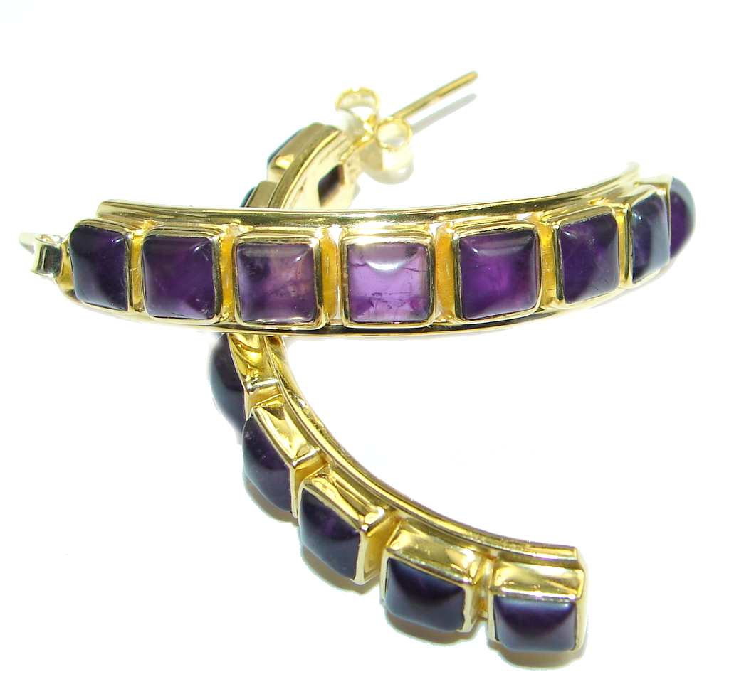 Stella Amethyst Gold plated over Sterling Silver