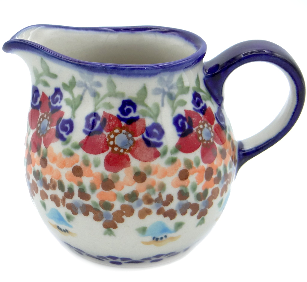 SilverrushStyle - Polish Pottery Creamer - Marigolds Collection 119898