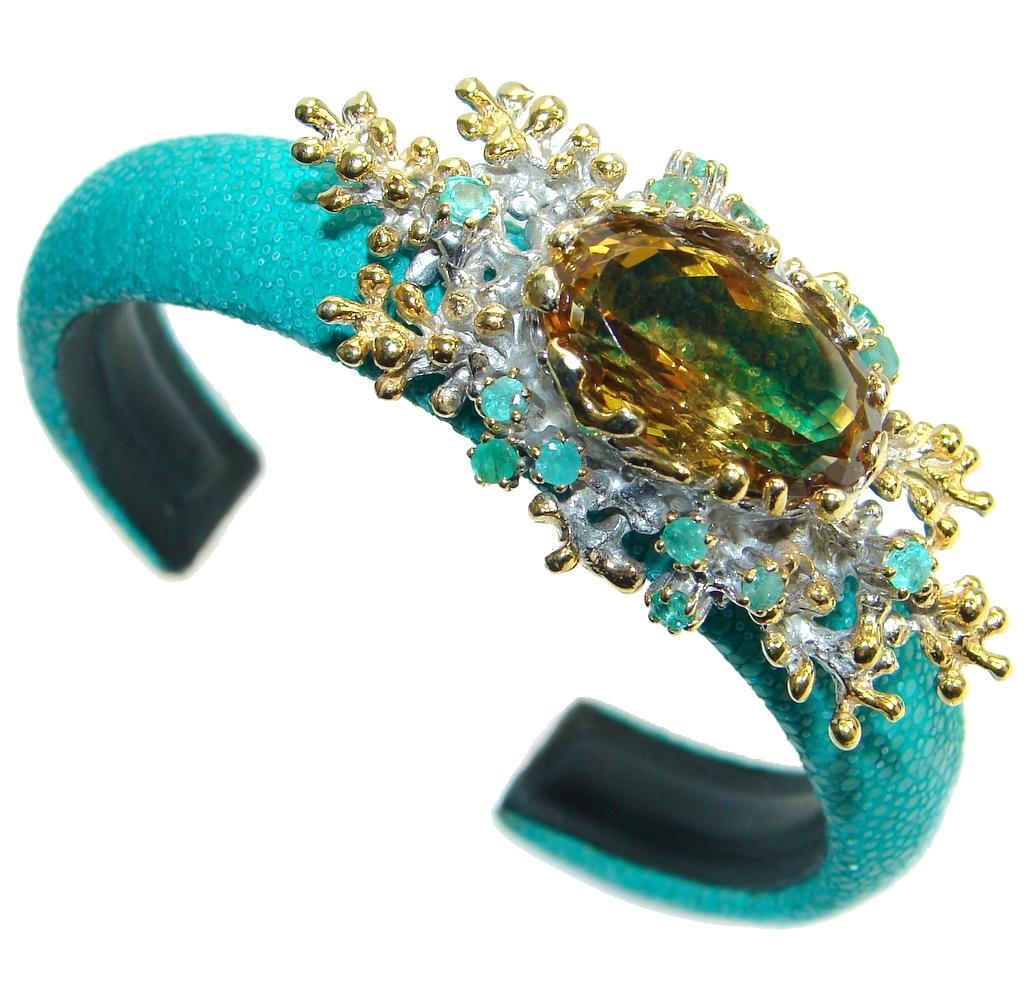Rare Citrine Emerald...