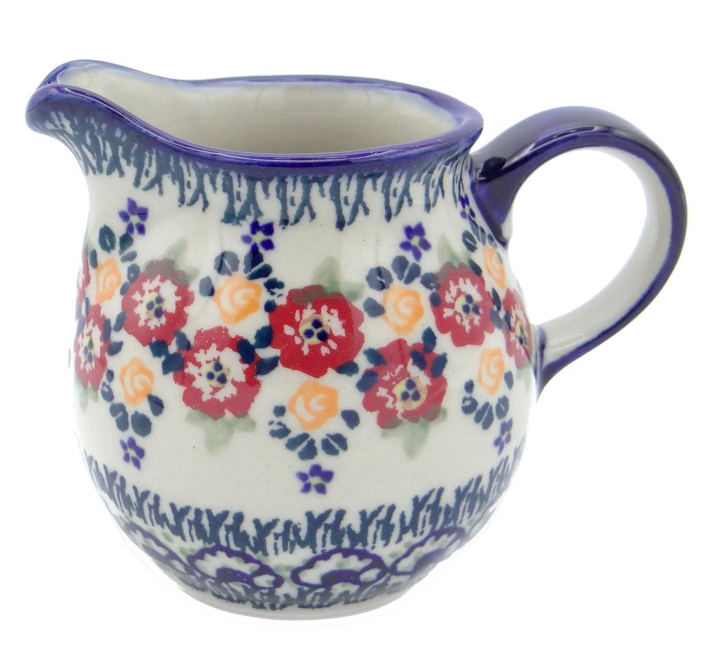 SilverrushStyle - Polish Pottery Creamer - Summer Bouquet Collection 120480