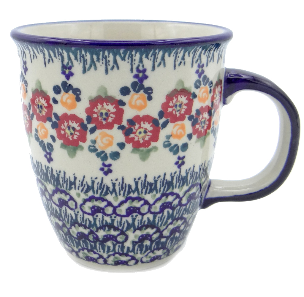 SilverrushStyle - Polish Pottery Coffee Mug - Summer Bouquet Collection 120496