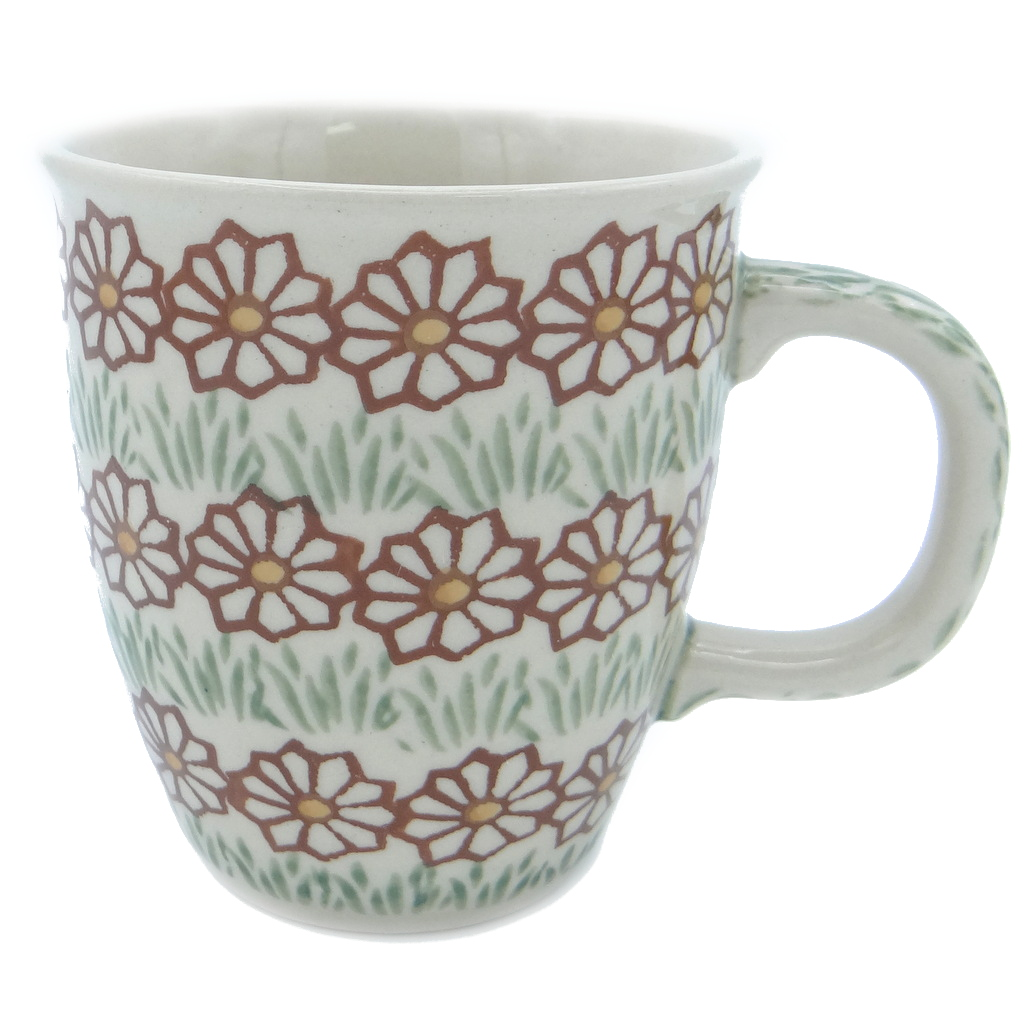 SilverrushStyle - Polish Pottery Coffee Mug - Autumn Garden Collection 120534