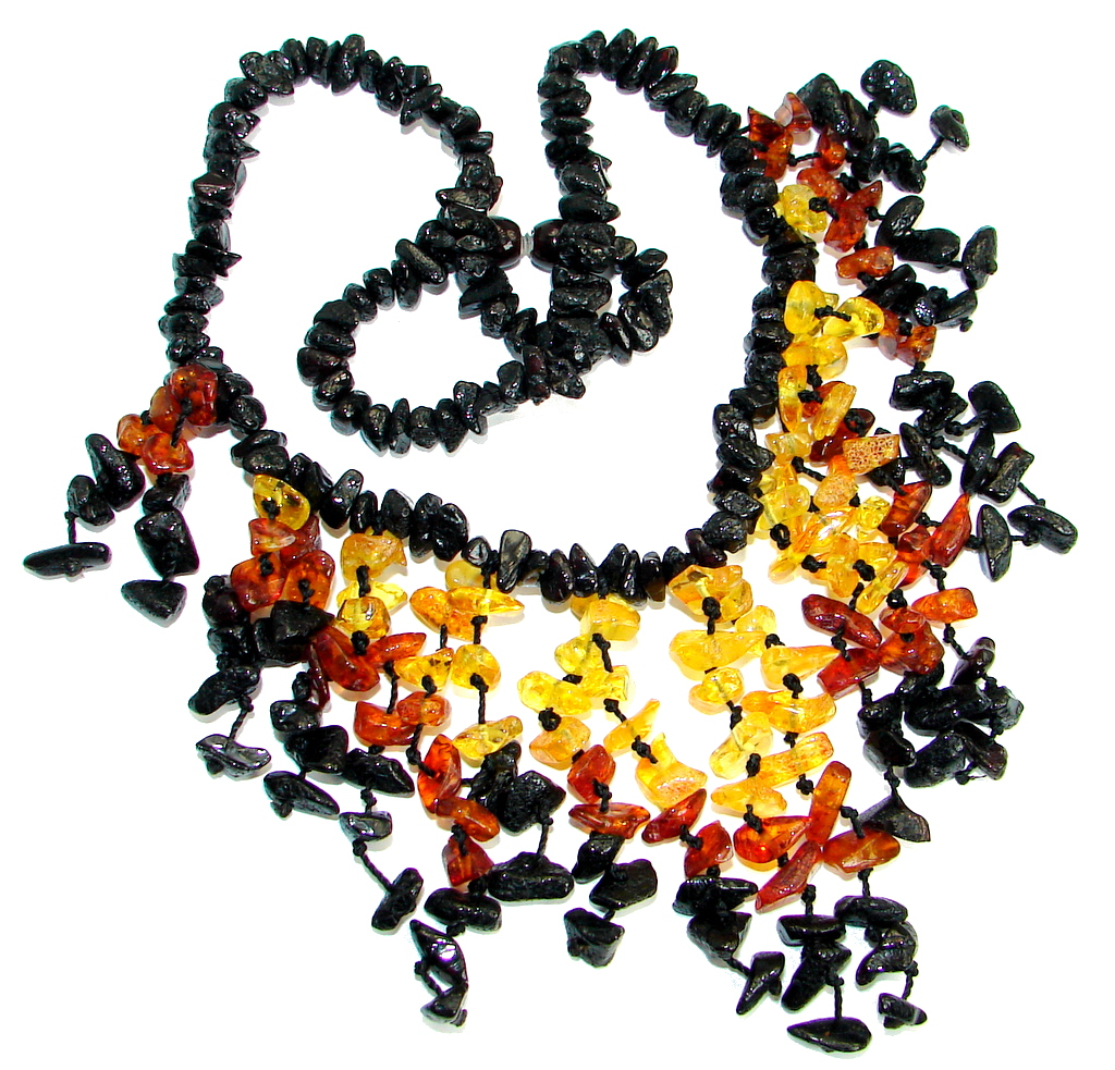 Fabulous Natural Baltic Amber handcrafted  Necklace