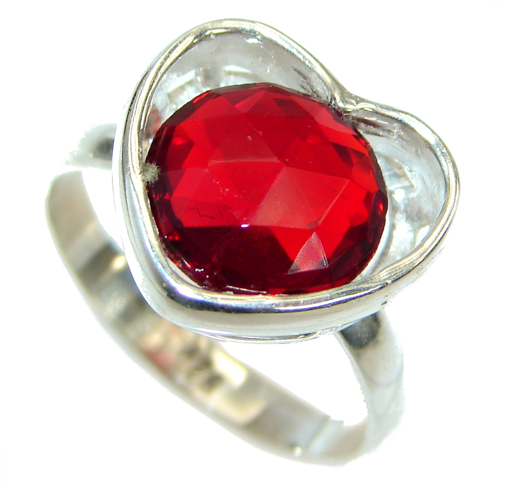 My True Love Red Topaz...