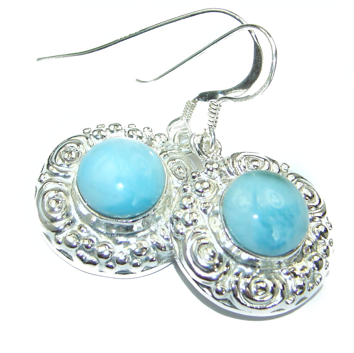 Blue Temptation  Larimar  .925 Sterling Silver  handmade