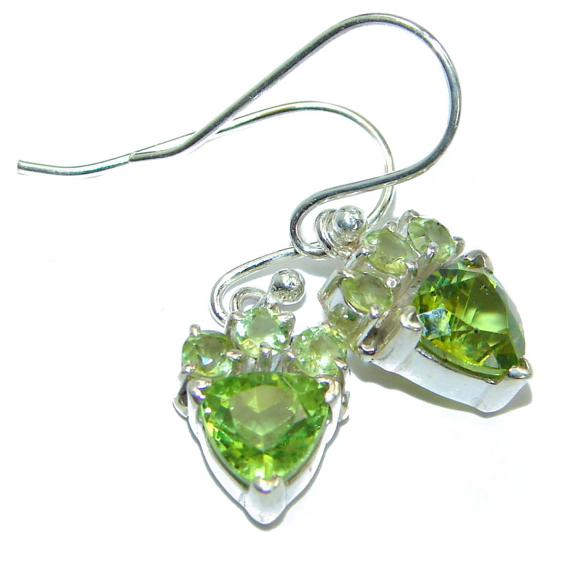New Era  Authentic    Peridot   .925 Sterling Silver