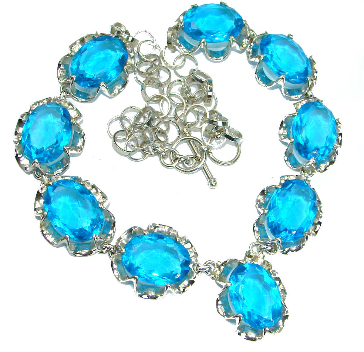 Bohemian Style One of the kind Quartz .925 Sterling Silver handmade necklace