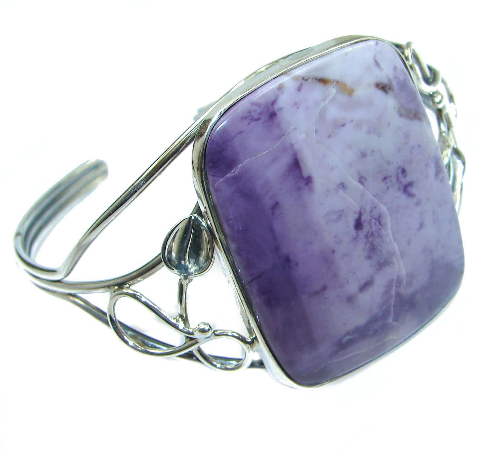 Sublime Tiffany Jasper .925 Sterling Silver handmade Bracelet