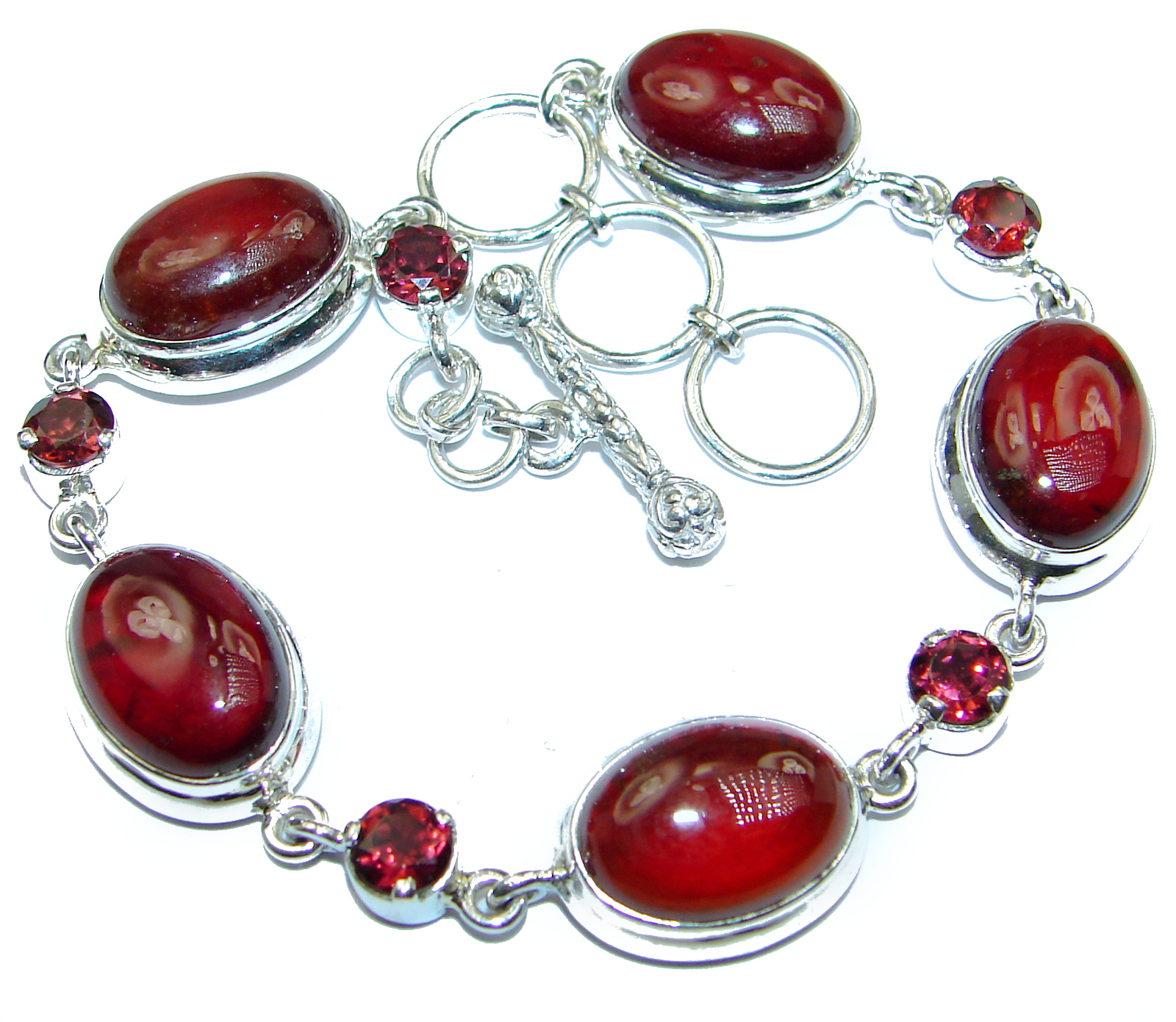 Secret_Beauty__Rhodolite_Garnet_.925__Sterling_Silver_handcrafted_Bracelet