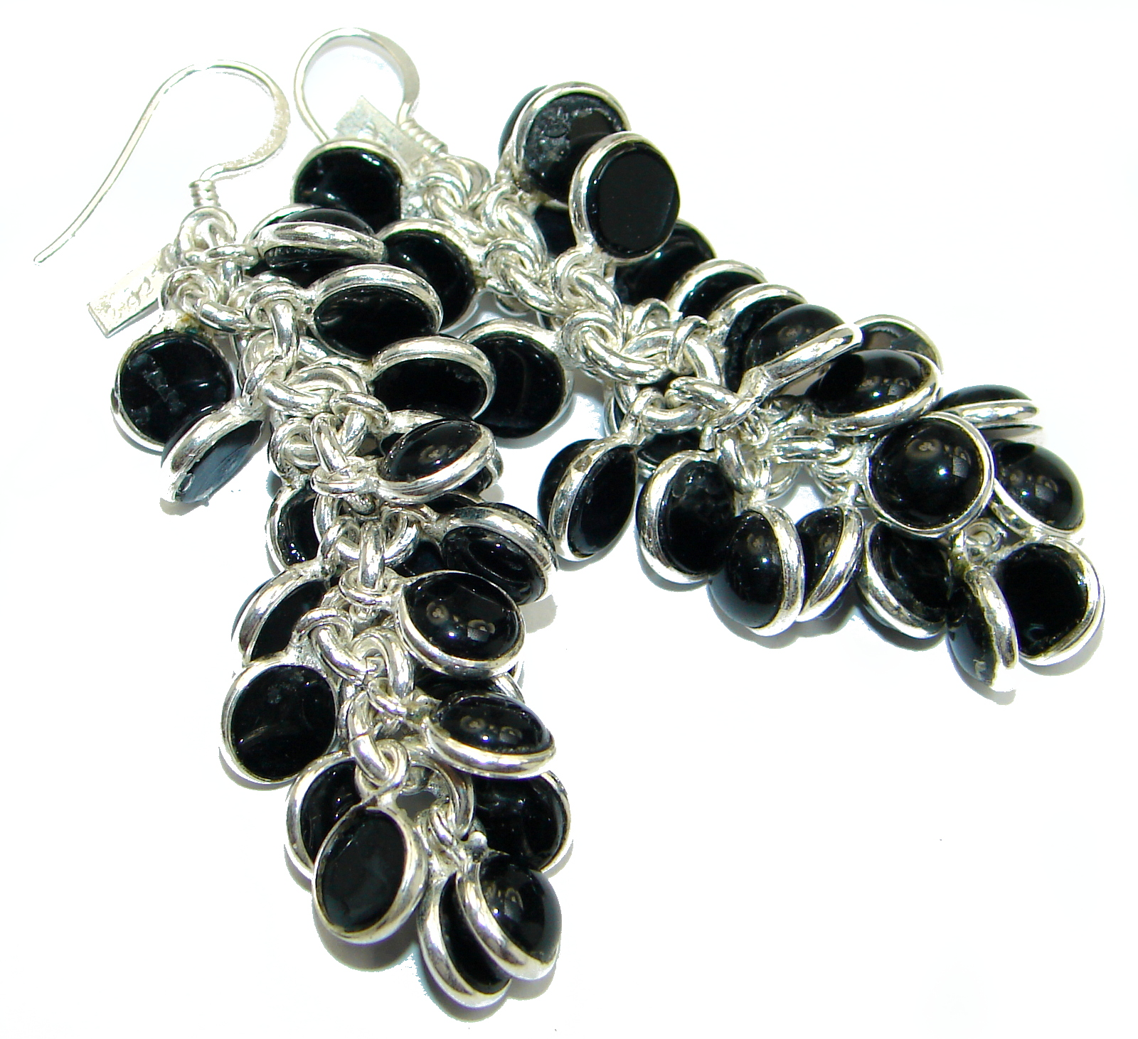 Just Perfect  Black Onyx  .925 Sterling Silver