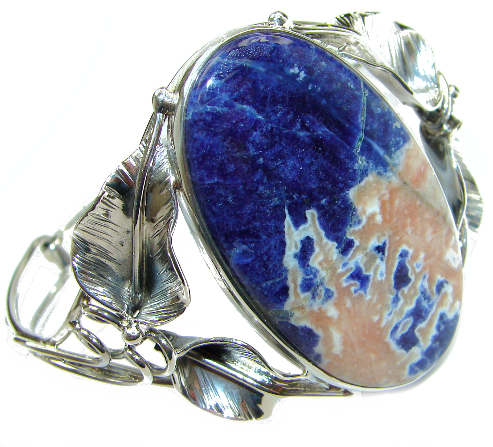 Huge_Blue_Galaxy_genuine_Sodalite___handcrafted_.925_Sterling_Silver_Bracelet