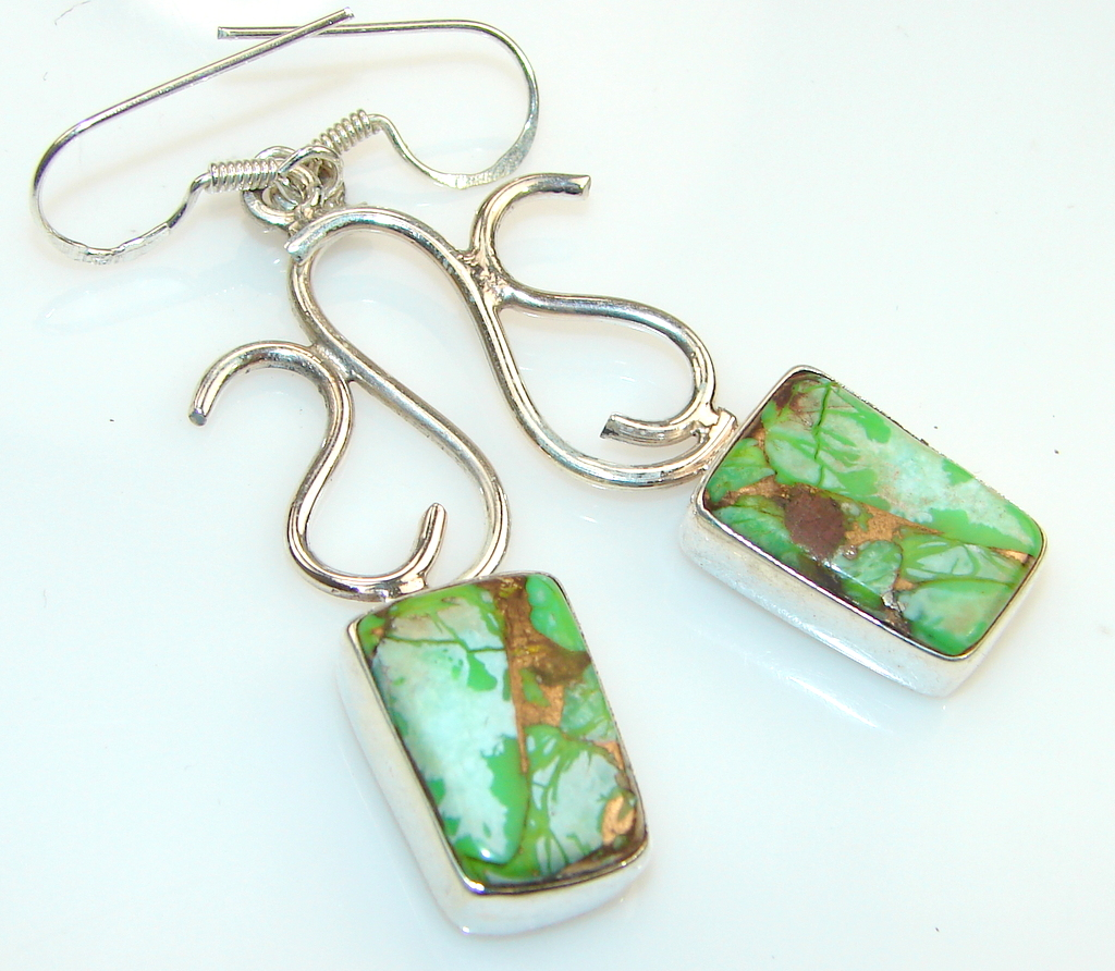 Beautiful Sweet Turquoise Silver earrings