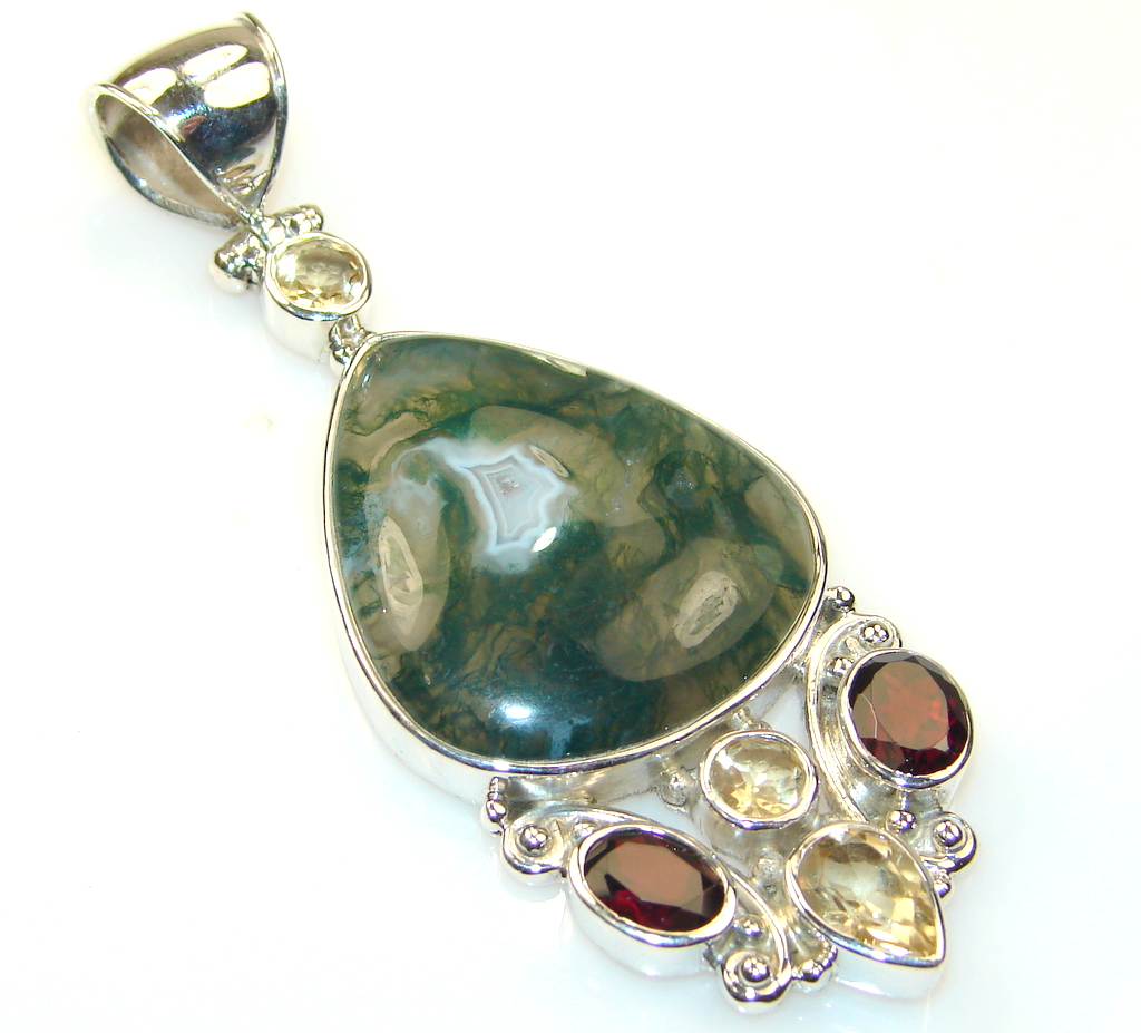 Excellent Moss Agate...