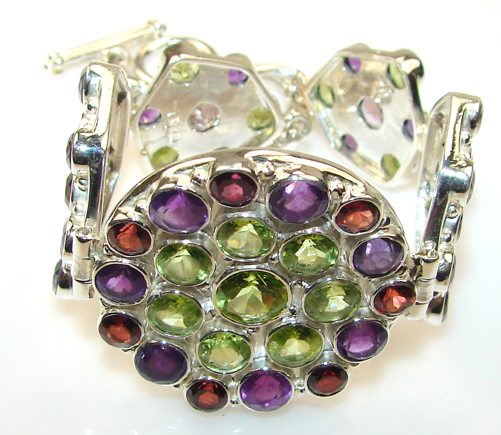 Bright Side Peridot Sterling Silver bracelet