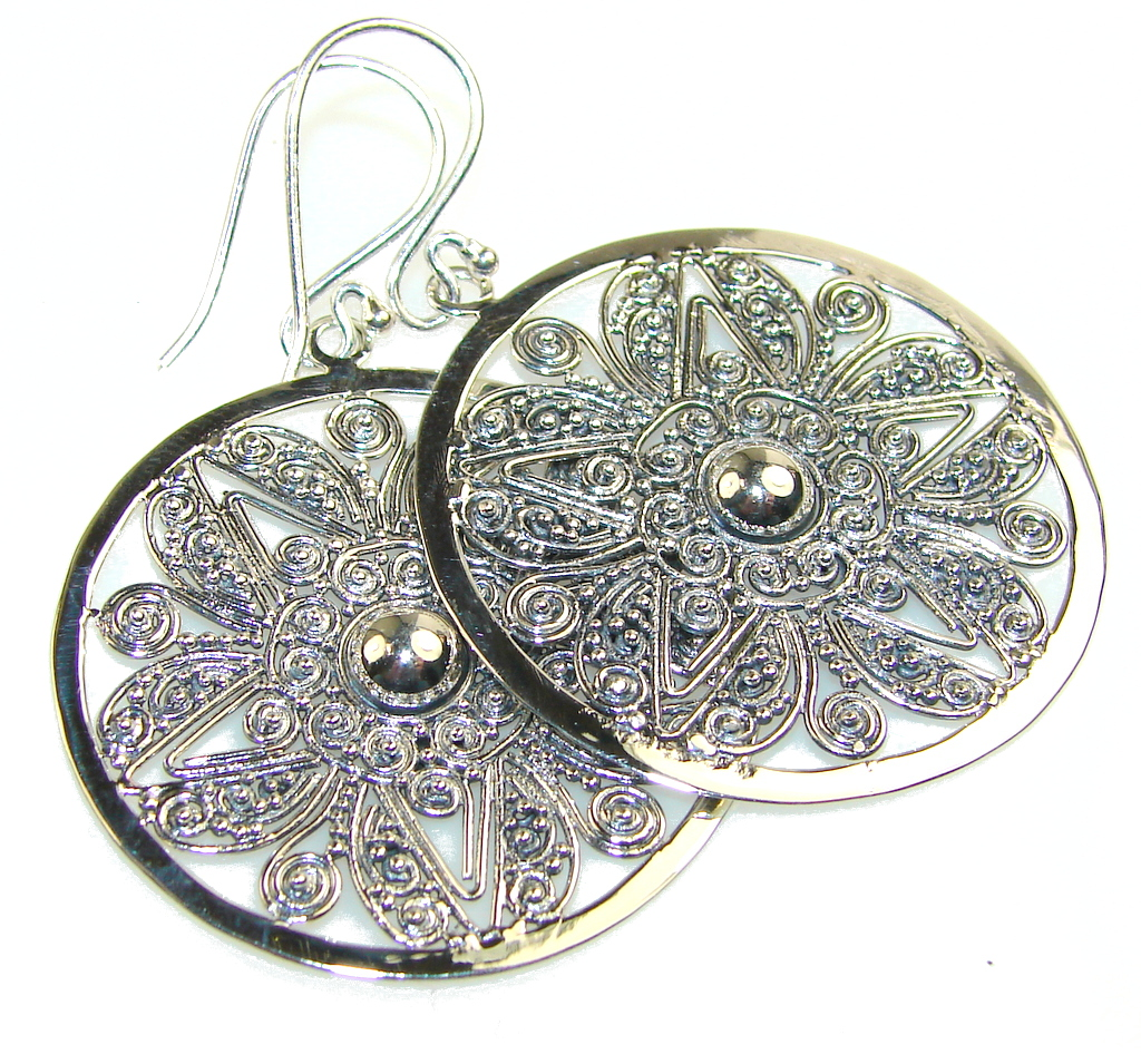 Image of Precious Silver Sterling Silver earrings