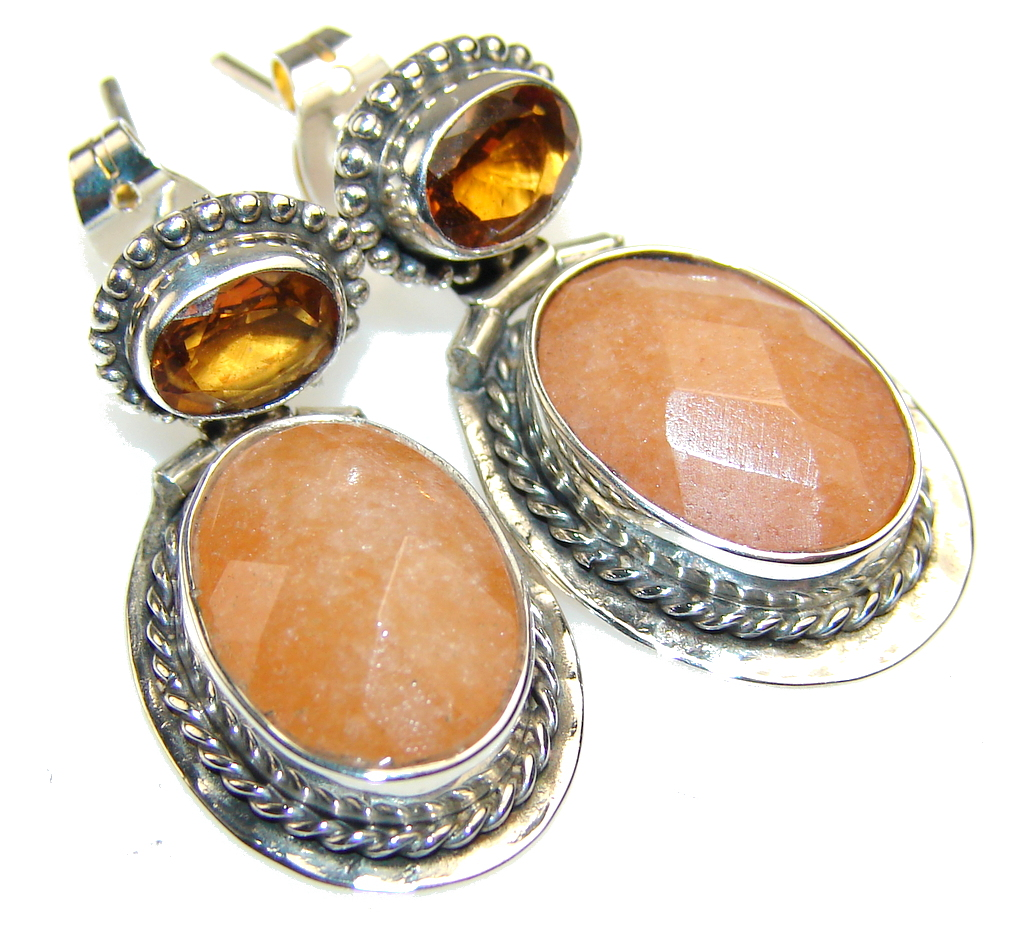 Fantastic Calcite Sterling Silver earrings