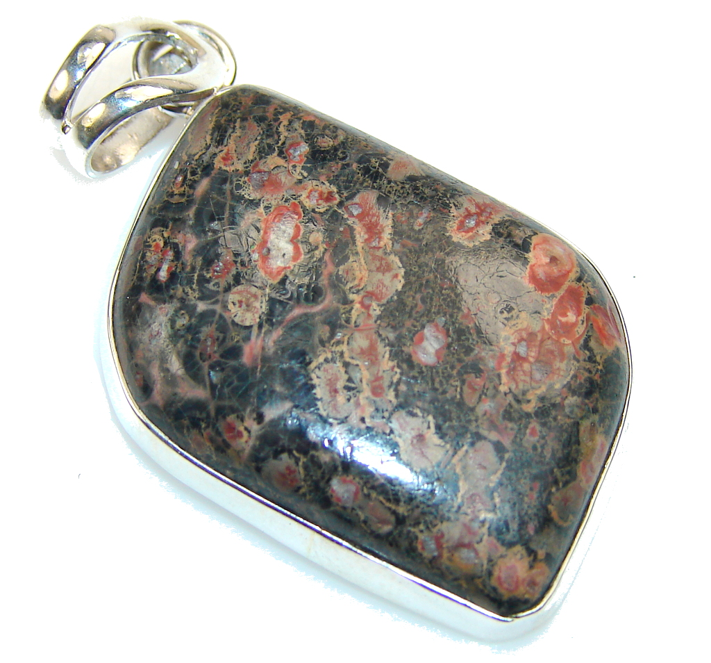 Image of Classy Crinoid Fossil Sterling Silver Pendant