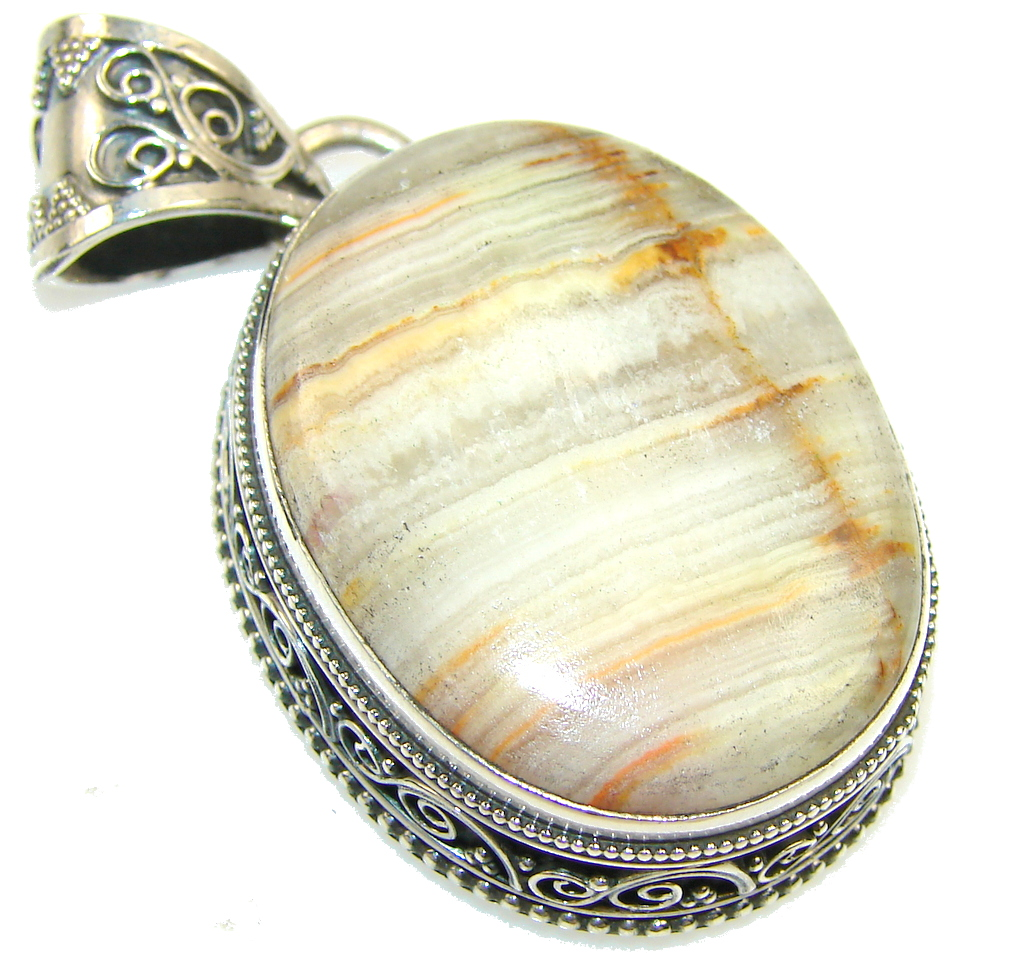 Instant Classic Agate Sterling Silver Pendant image