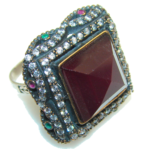 Turkish Style! Pink Ruby...