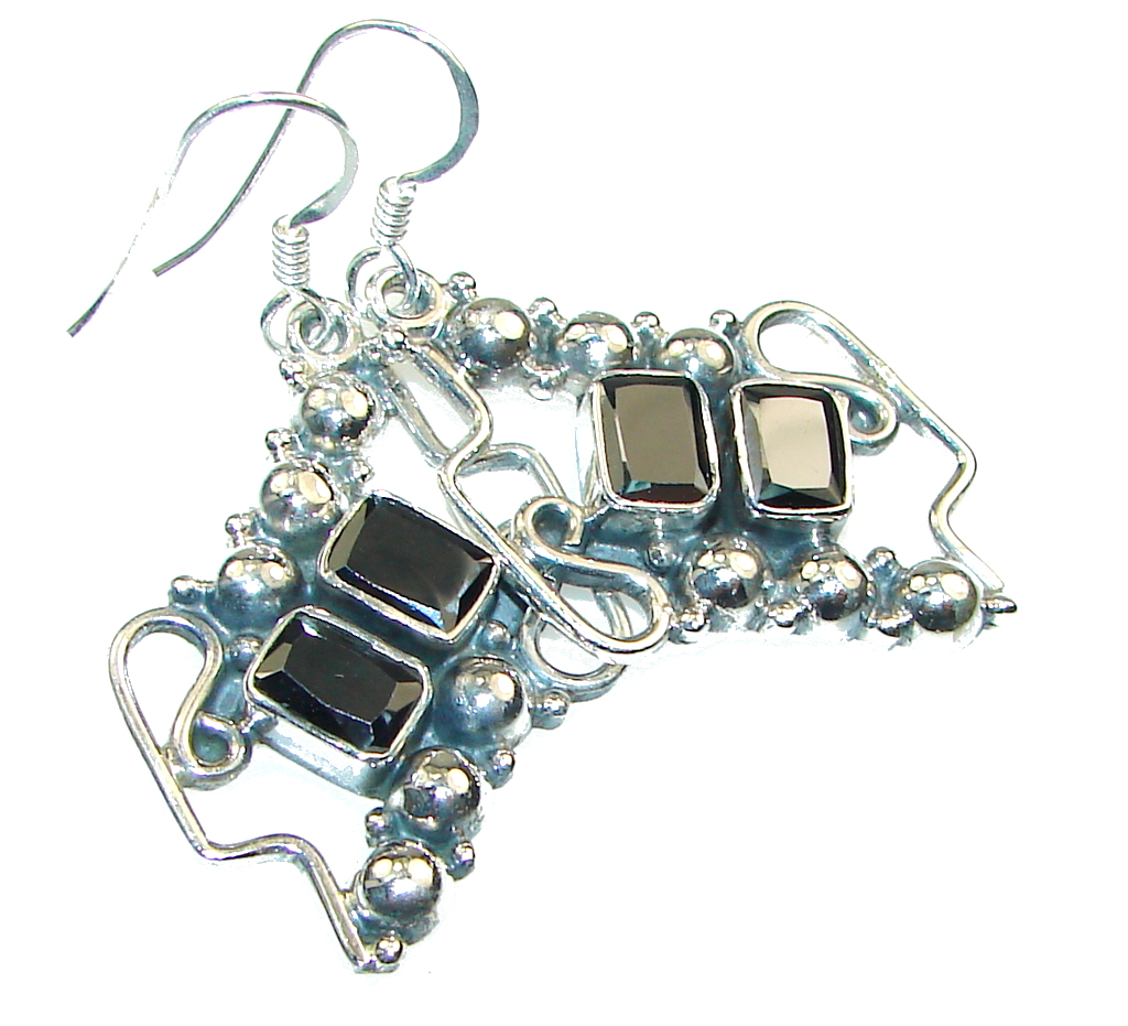 Fantastic Silver Hematite Sterling Silver earrings