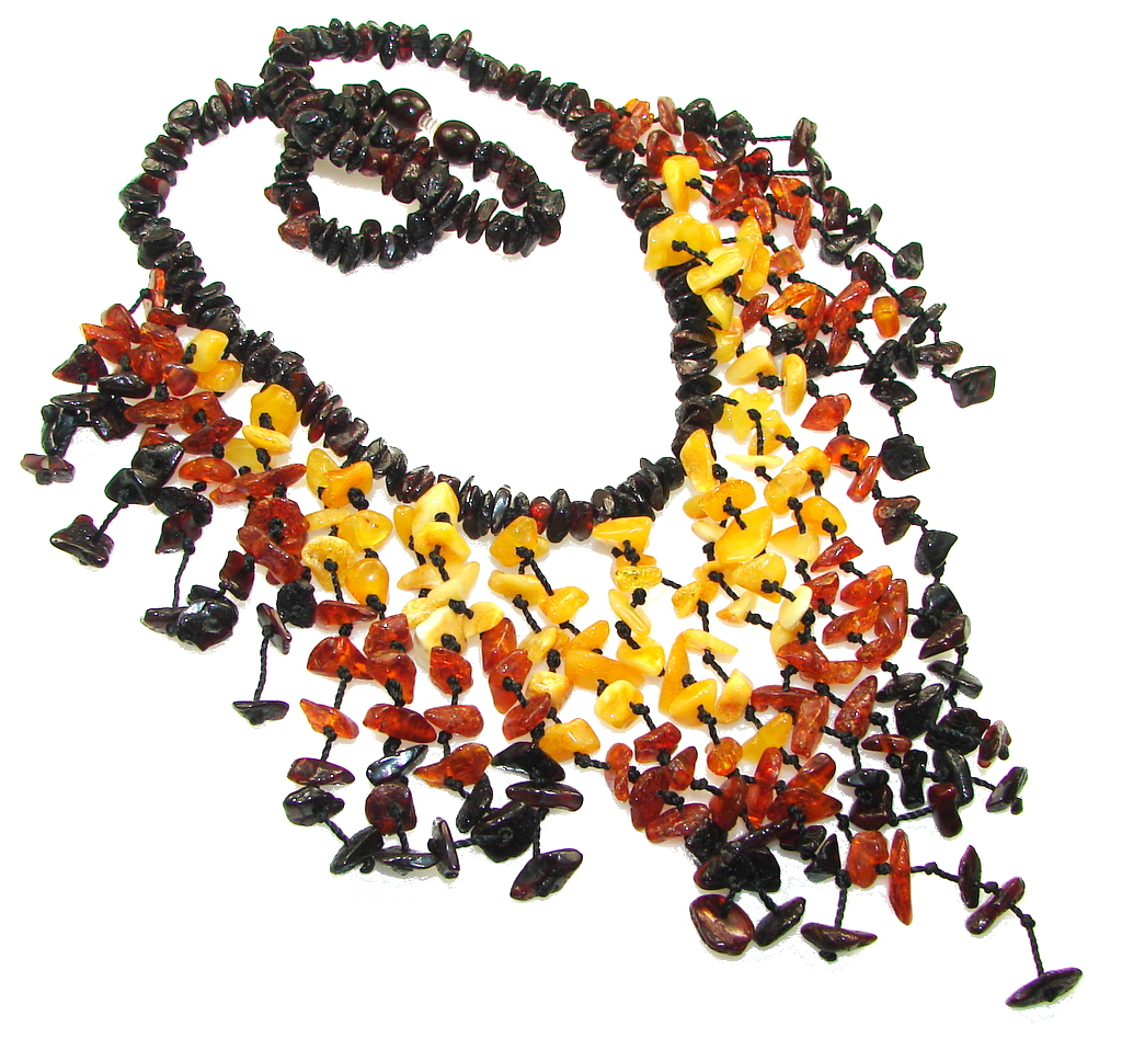 Amazing Design! Polish Amber necklace