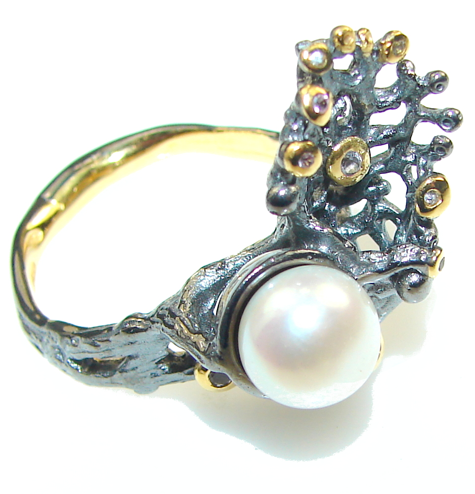 Gorgeous Italy Made, Rhodium Plated, 18ct Gold