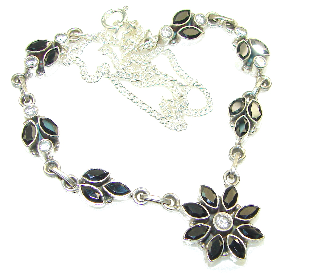 Secret! Hematite Sterling Silver Necklace