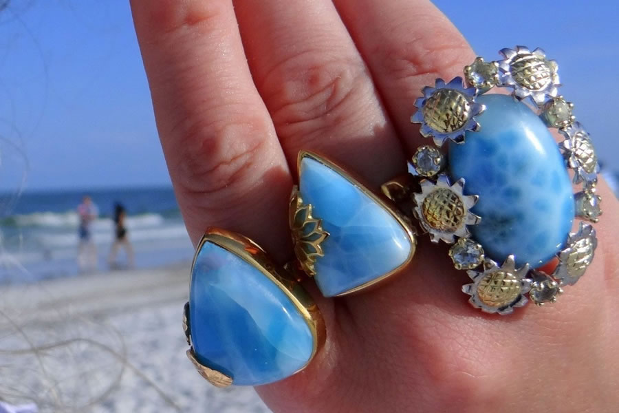 Larimar Jewelry Collection